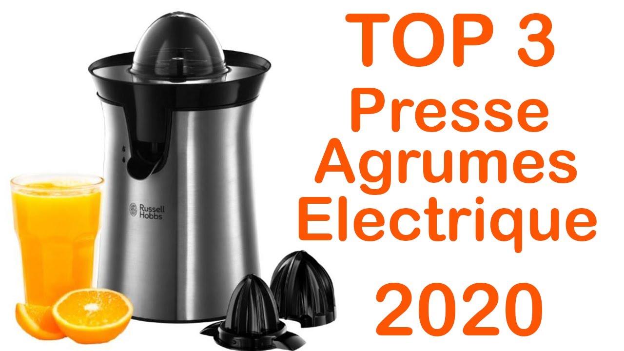 top 3 meilleur presse agrumes electrique 2020