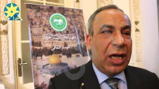 بالفيديو ...مستشار الثقافى لسفارة فلسطين قضية تهويد القدس من اهم القضاية العربية