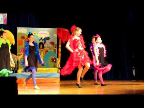 Mikaela Sheridan sings Amazing Mayzie in Seussical, Jr. 2013