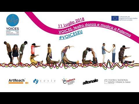 VOICES: teatro danza e musica a Palermo