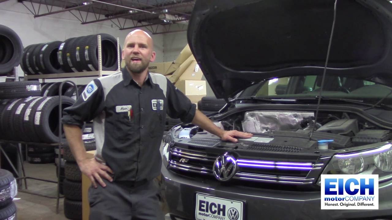 How to volkswagen headlight bulb replacement eich motor for Eich motors st cloud minnesota