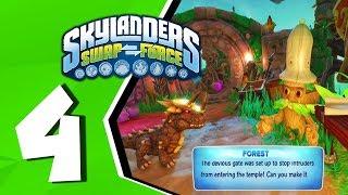 Skylanders Swap Force (Redo) Walkthrough Part 4: Rampant Ruins [Playstation 4]