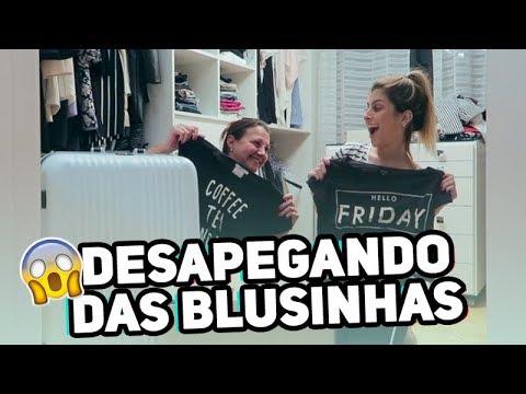 FIZ A LIMPA NO MEU CLOSET!!! | Nah Cardoso