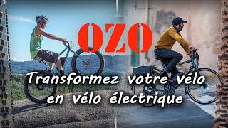 OZO - un moteur pour chaque vélo -Transformez votre vélo en vélo électrique avec un kit OZO