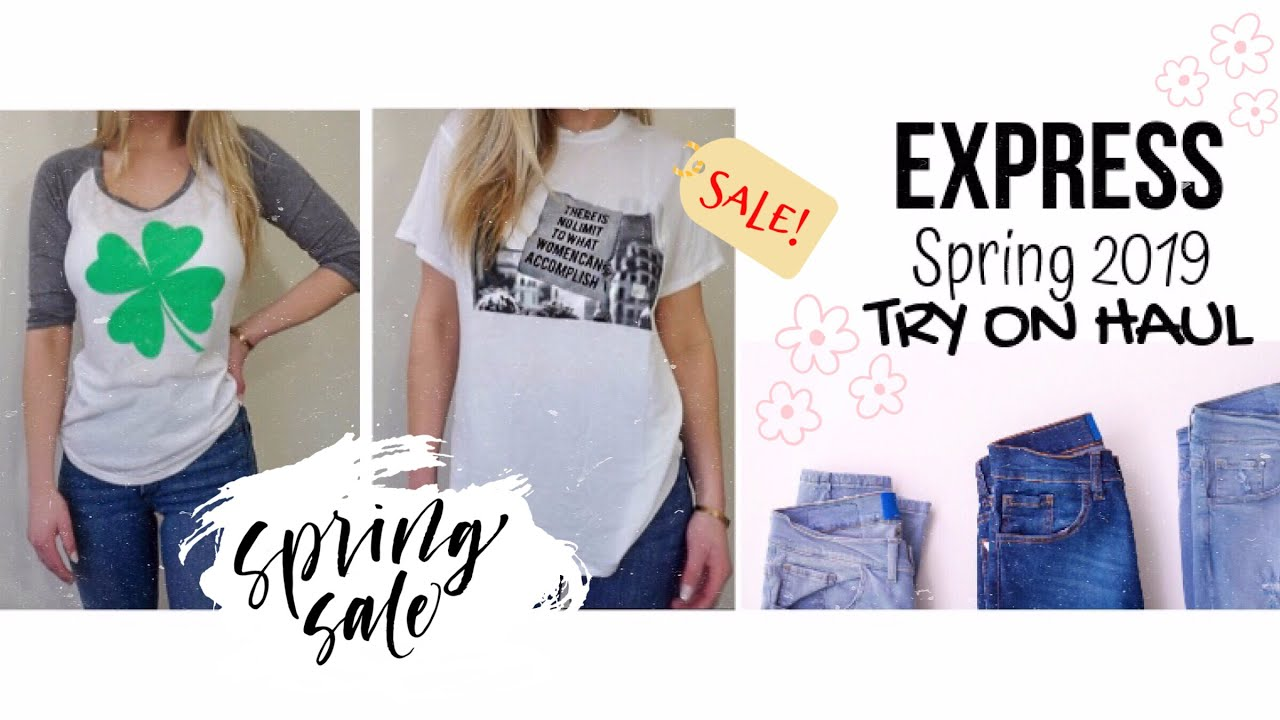 [VIDEO] - EXPRESS Try On Haul SPRING 2019 | beeisforbeeauty 8
