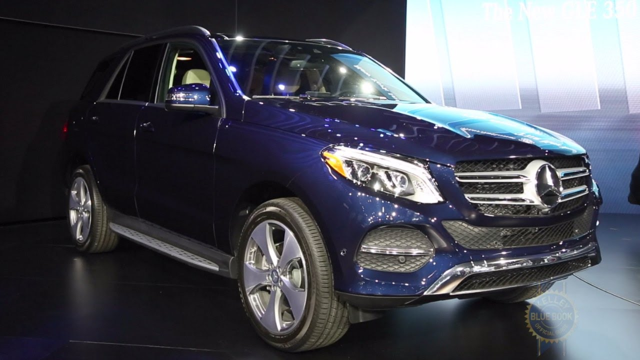 2016 mercedes benz gle class 2015 new york auto show youtube