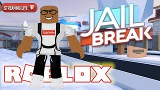 ROBLOX JAILBREAK WINTER UPDATE (Live Stream)