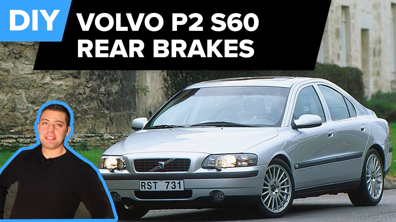 Volvo Rear Brake Replacement Pads And Discs S60 S80 Xc70 Not Carrying The Gt4 Suspension Whether Disc Or Drum On V70 Youtube
