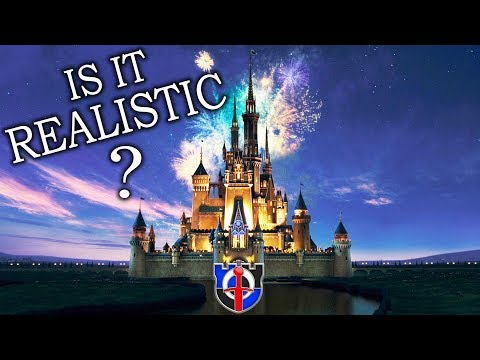 How realistic is the DISNEY CASTLE?