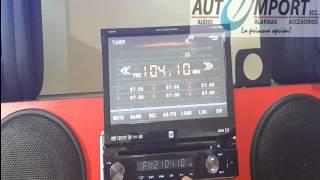 Radio Pantalla DUAL DSA1007 - DEMOSTRACION