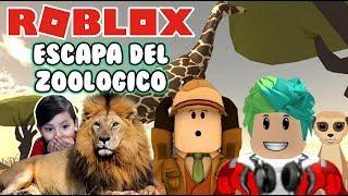 Safari in Roblox Escape the Zoological Safari Roblox Obby Games