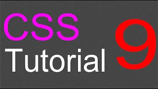 CSS Layout Tutorial - 09 - Adding the footer