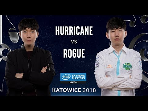 Starcraft II - Hurricane [P] vs. Rogue [Z] - Ro12 - IEM Kato