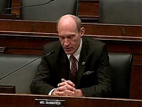 U.S. Rep. Thaddeus McCotter at Financial Services Committee Hearing