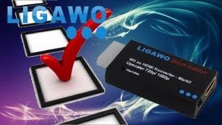 Hardware Check - Ligawo Wii HDMI Konverter Skaler 720p/ 1080p