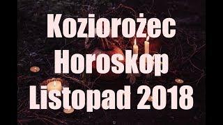 Koziorożec Horoskop na Listopad 2018