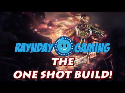 Ao Kuang One Shot Build and Gameplay! (SMITE) Season 3