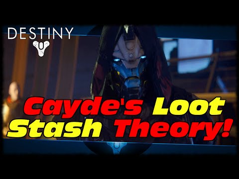 Cayde's Secret Loot Stash Conspiracy Theory! Destiny How To Get No Time To Explain Theory!