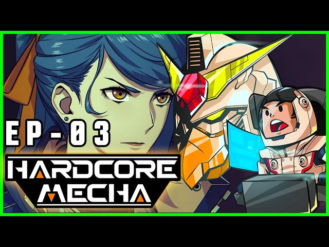 HARDCORE MECHA - Cidade Sitiada  - S01E03- CAPSLOCK
