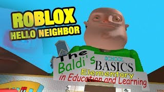 BALDI EXE - ROBLOX HELLO NEIGHBOR