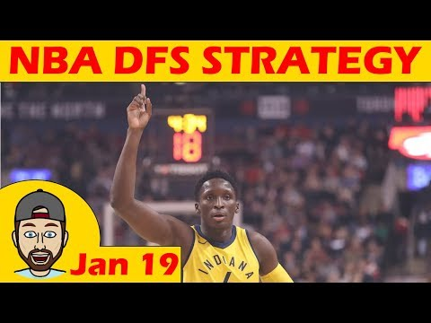 NBA DFS Projections & Strategy | Friday 1/19 | FanDuel & DraftKings