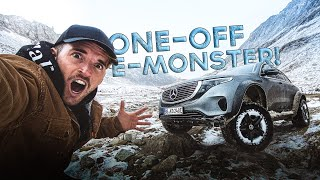 THE ONE-OFF ELECTRIC MONSTER! Mercedes EQC 4x4²