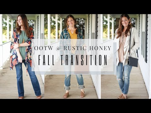 Fall Outfit Ideas 2019 - OOTW at Rustic Honey Boutique