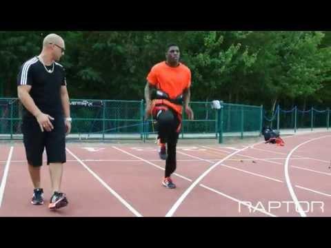 Raptor Track - Running High Knee Drive