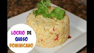 Locrio de queso Dominicano | Cocinando con Ros Emely