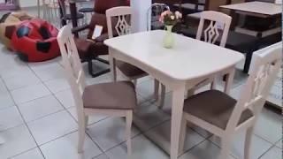 Кухонный стол Челси и стулья Оскар. Обзор от Mebelmart.com.ua