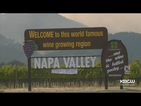 Firefighters Slow Down Nuns Fire As It Creeps To Napa Valley Wineries