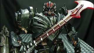 Wei Jiang RENDSORA (KO Oversized The Last Knight Megatron): EmGo's Transformers Reviews N' Stuff