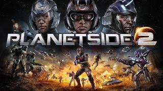 обзор и геймплей Бесплатной игры PlanetSide 2 на SONY Playstation 4 PRO