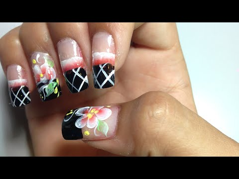 Pretty Cute Nail Art Designs | Simple Easy Nail Art Paint Ideas (Part 26), Cute Flower Nails