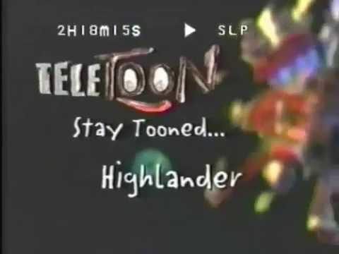 Teletoon Bumpers (Fall 1997)