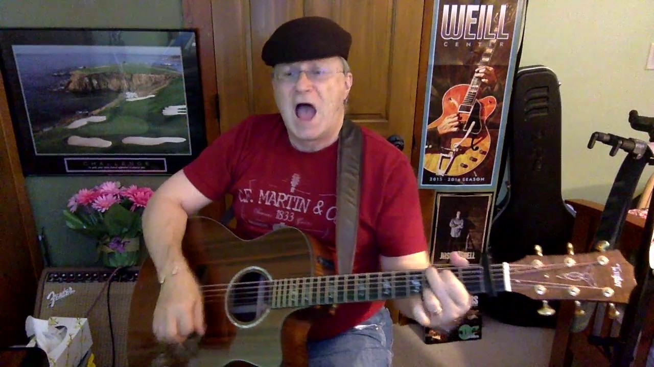 2148 Earth Angel Penguins Vocal Acoustic Guitar Cover Chords