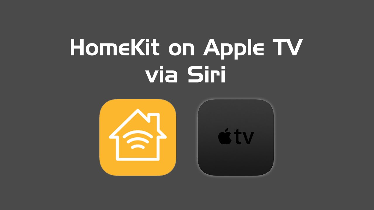 How to control homekit devices with siri on apple tv for Apple homekit bticino