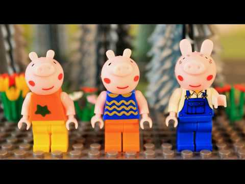 three little pigs and bad vilian lego stop...