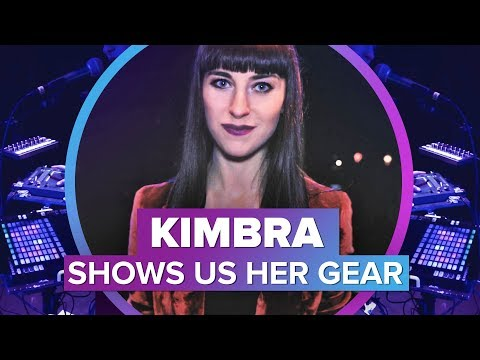 Kimbra makes music with awesome gadgets