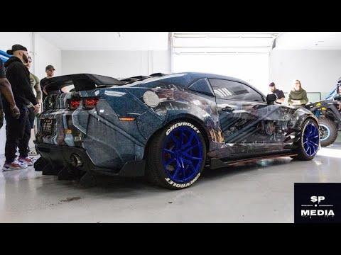 My New Wrap Unveil | Optimus Prime Camaro