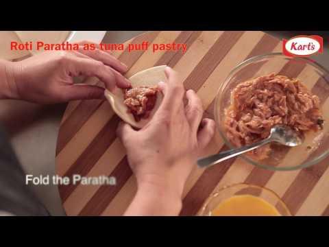 Roti Parathan As Tuna Puff Pastry
