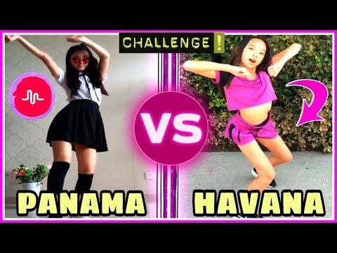 Panama Dance VS Havana Dance Challenge   Asian Dance Trends Musically Battle