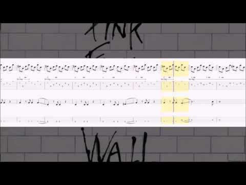 Pink Floyd - Hey You • Rythm Guitar & Bass Tab