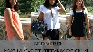 NYC vlog ft. Tiffany DeSilva! Thumbnail