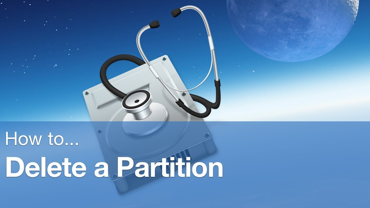 How To Delete A Partition On Mac