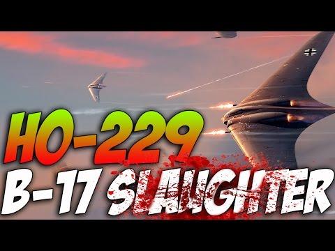 War Thunder - Ho 229 VS B-17 - Guardian Angel Event! Ho-229 Gameplay! Patch-143