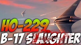 War Thunder - Ho 229 VS B-17 - Guardian Angel Event! Ho-229 Gameplay! Patch-143