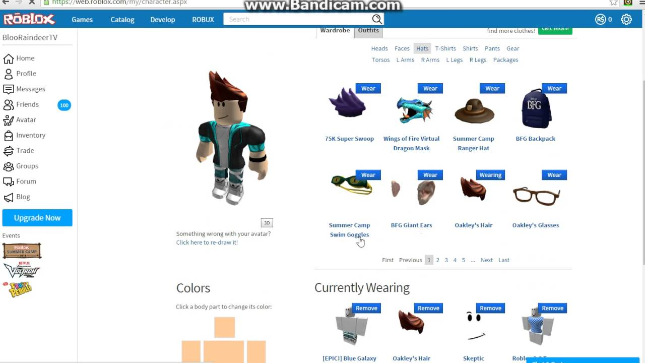 ROBLOX - 150k Code For Super Swoop Hair - YouTube