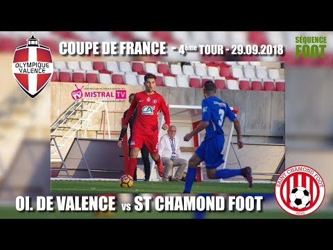 Séquence Foot   4ème tour Coupe de France   OV   St Chamond