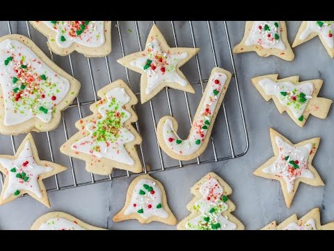 Perfect Sugar Cookies - Holiday Recipes - Weelicious